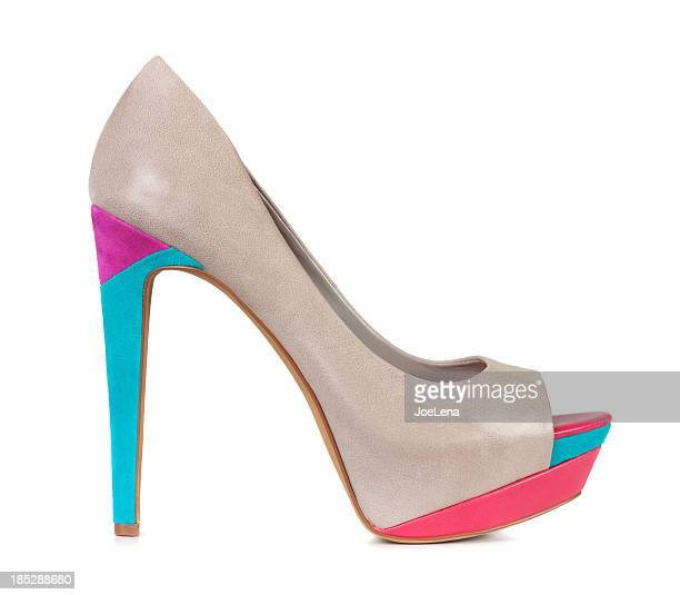 Colorful High Heel Shoe