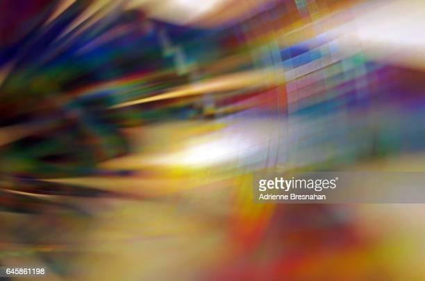 Colorful Holographic Light Effects