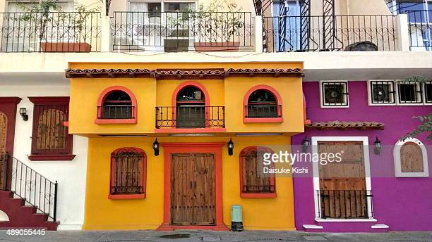 Colorful houses at Puerto Vallarta