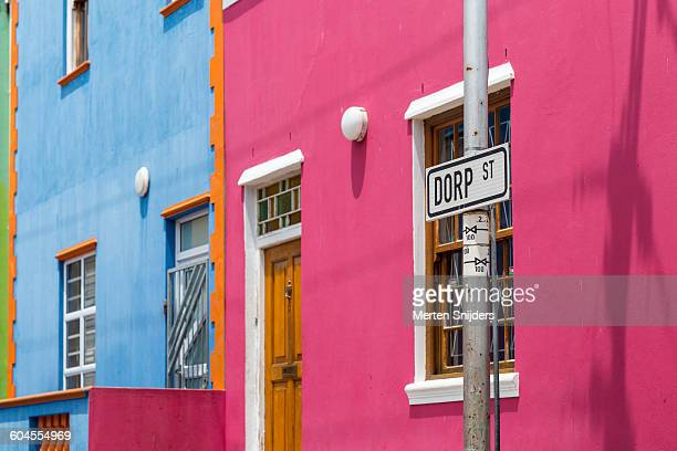 Colorful houses in Bo Kaap