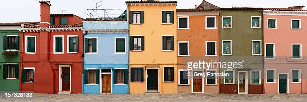 Colorful houses of Burano, Italy