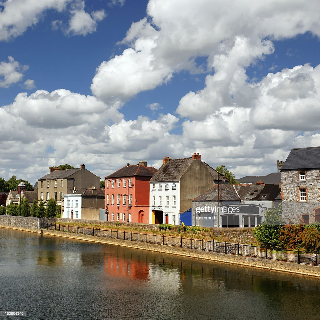 'Colorful houses of Kilkenny, Ireland'