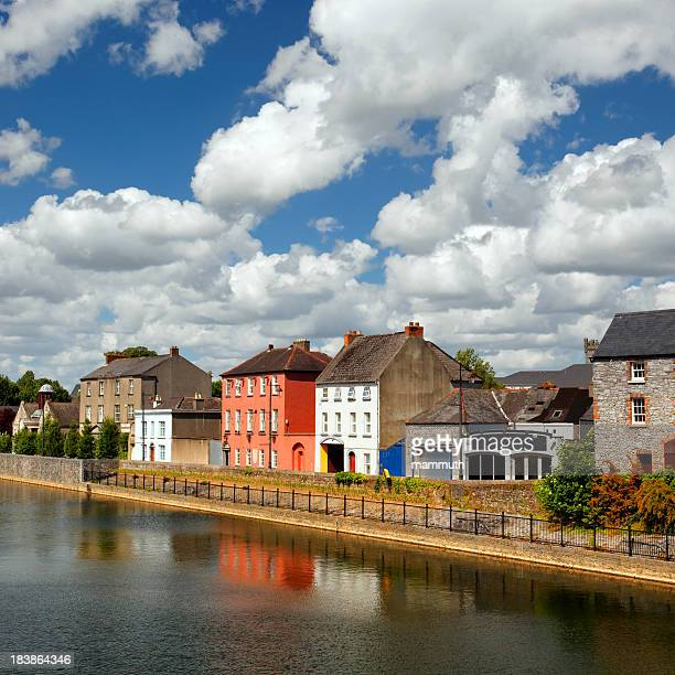 Colorful houses of Kilkenny, Ireland