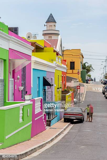 Colorful houses on Chiappini Street