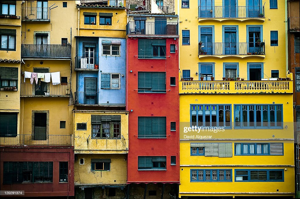 Colorful houses : Stock Photo