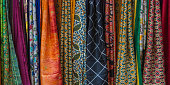 colorful indian sari fabric/ textile for sell in indian market