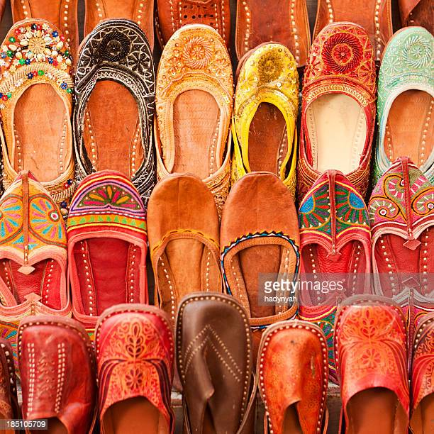 Colorful Indian shoes for sale