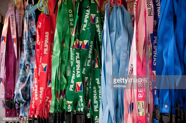 Bunte Lanyards in Pike Place Market