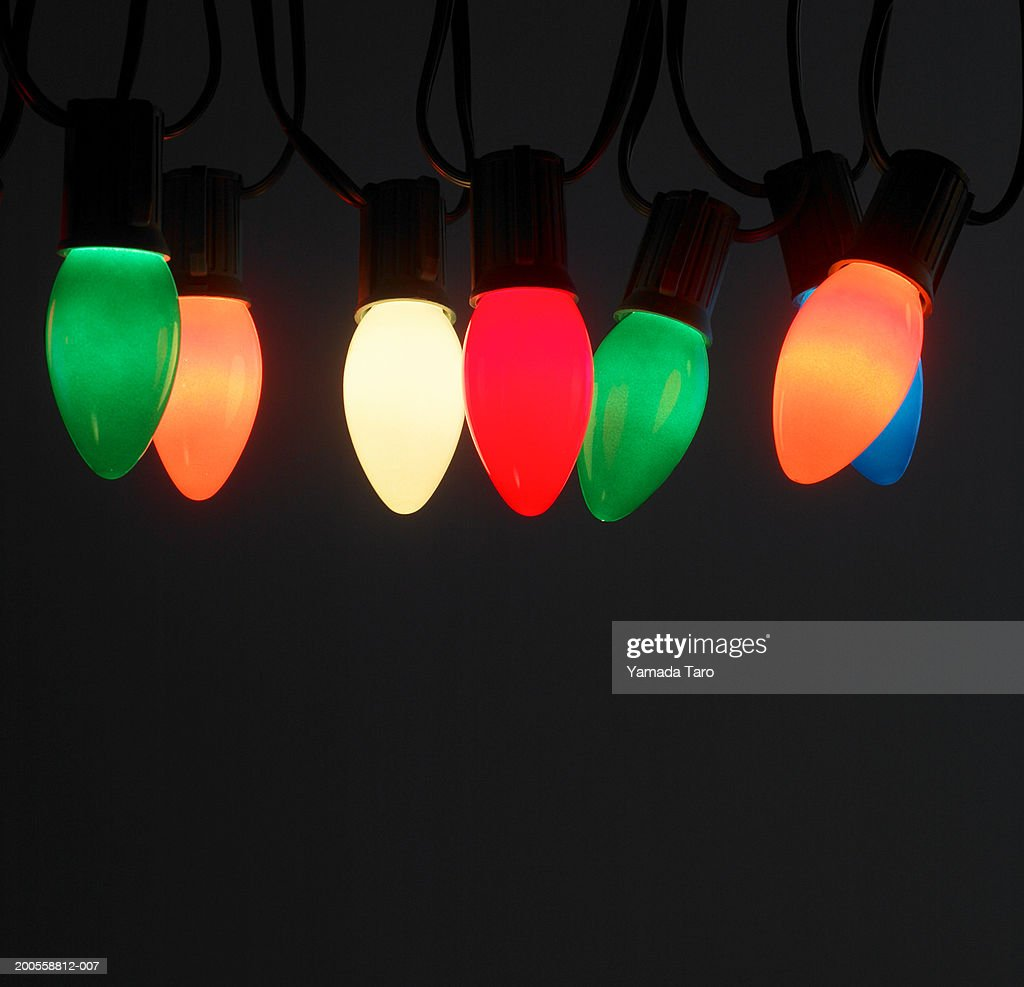 Colorful lights, close-up : Stock Photo