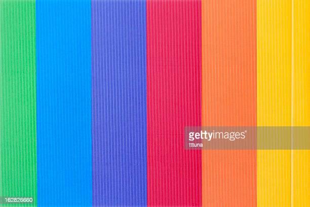 Con líneas coloridas diseño, creativo patrón abstracto fondo de fotos