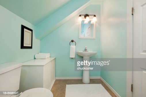 Colorful Little Bathroom