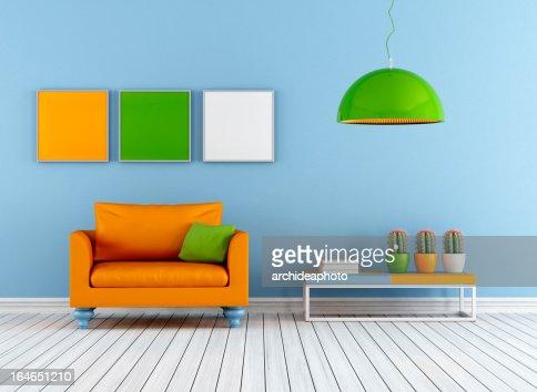 Colorful lounge : Stock Photo