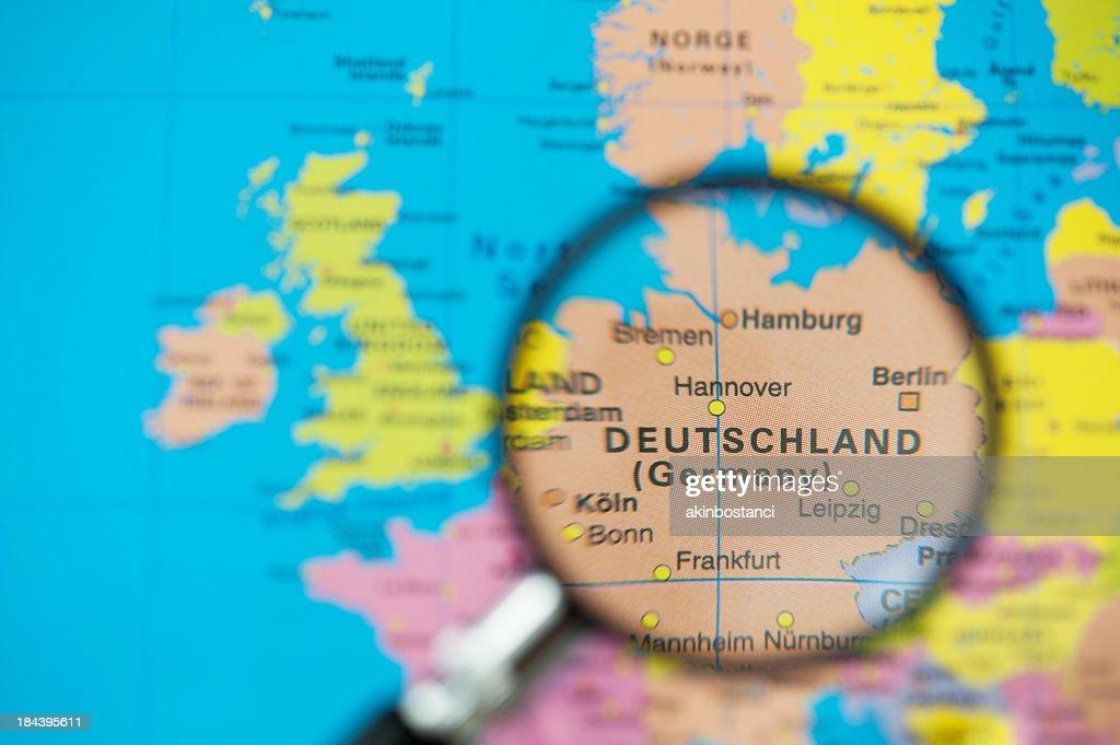 Reiseziel, Deutschland : Stock-Foto