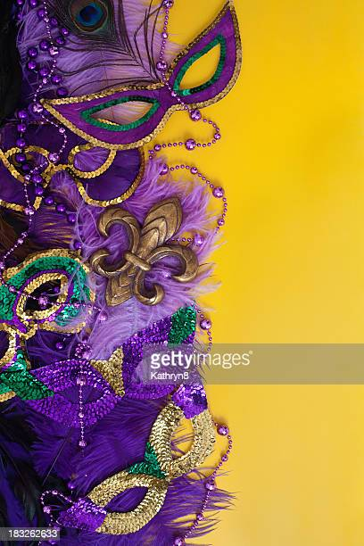 Colorful Mardi Gras Background