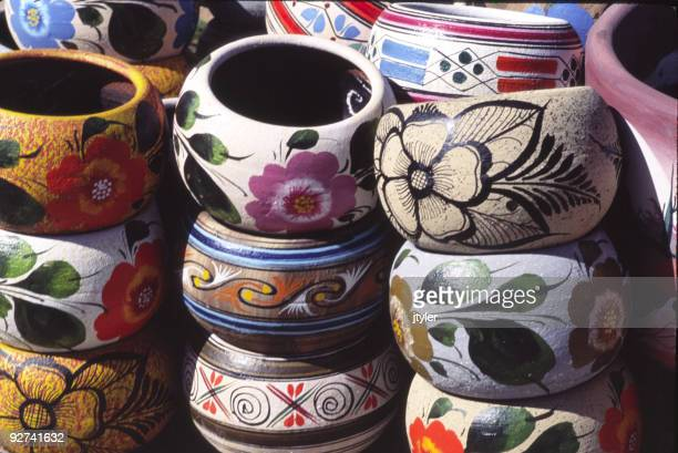 Colorful Mexican Bowls