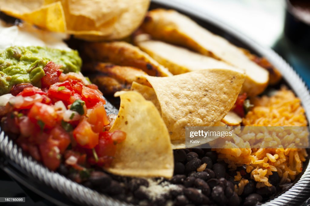 Colorful Mexican Food : Stock Photo