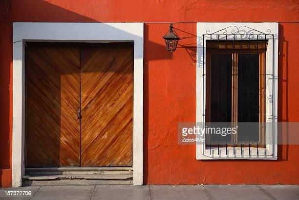 Farbenfrohe mexikanische house in Oaxaca