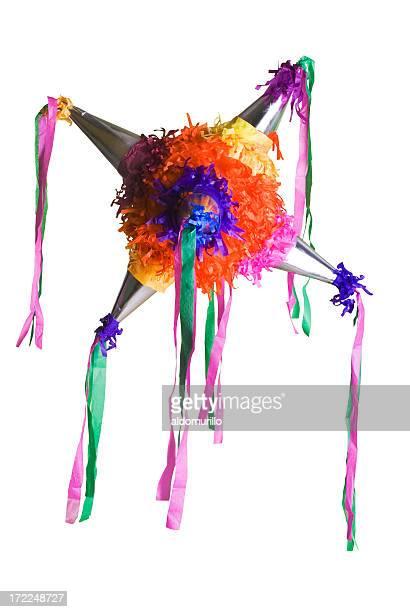 Farbenfrohe mexikanische piñata