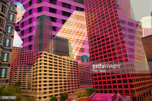Colorful Montage of Buildings