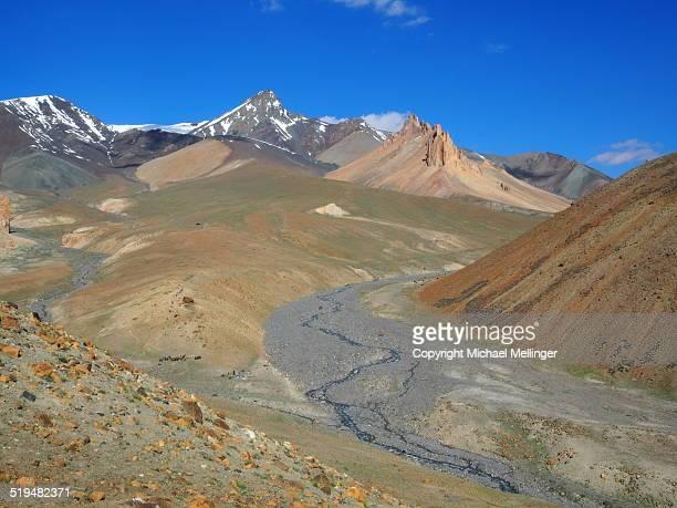Colorful Mountain Landscape-Zanskar Trek-Ladakh