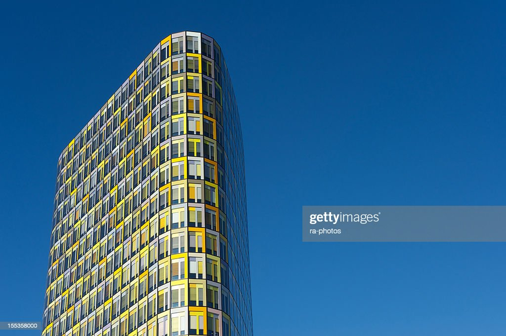 Colorful office building : Stock Photo