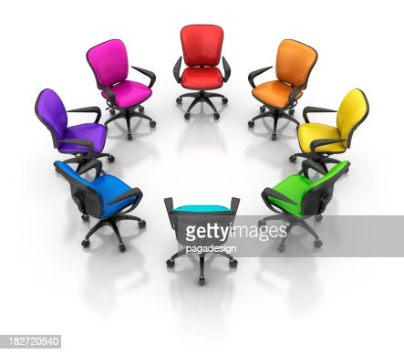 Colored Office Chairs