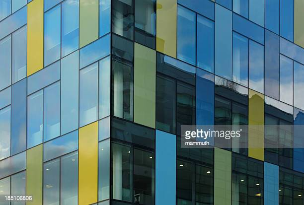colorful office windows