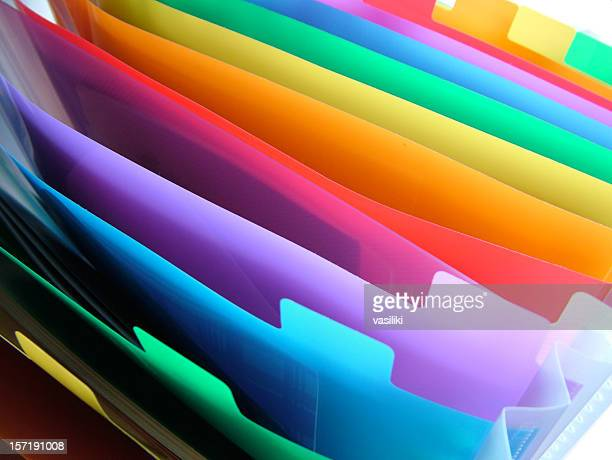 Colorful organizer macro