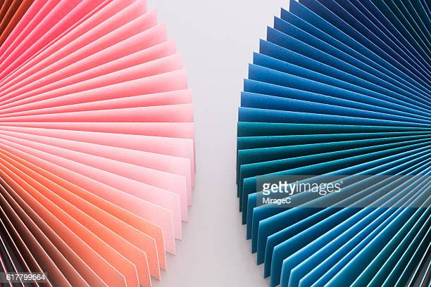 Colorful Paper Pages