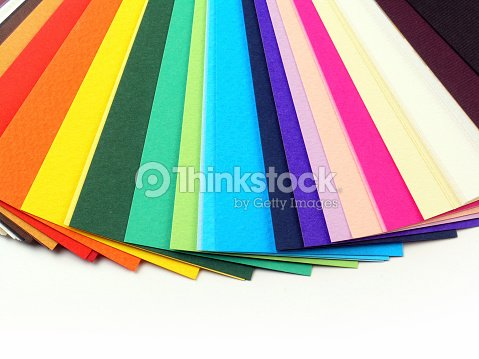 Colorful paper samples for business cards stock photo thinkstock colorful paper samples for business cards stock photo reheart Image collections