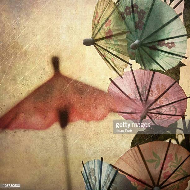 Colorful Paper Umbrellas