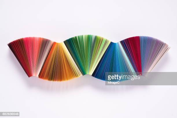 Colorful Paper Waving