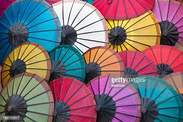 Colorful Parasol Background