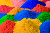 colorful powder coating
