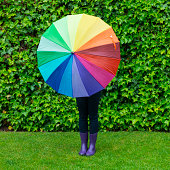Colorful rainy day