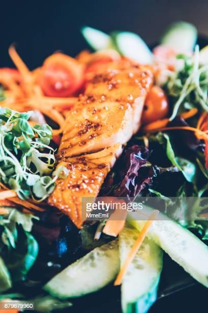 Colorful Salmon Salad
