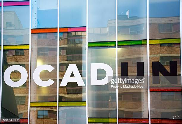 OCAD colorful side glass wall The Ontario College of Art and Design is a public university whose design reflects a drawing color pencils box
