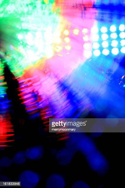 Colorful Stagelights background