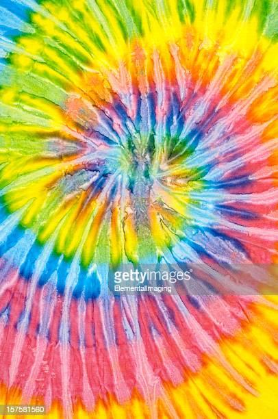 Tourbillon coloré teint au noeud motif de fond ou de la Texture