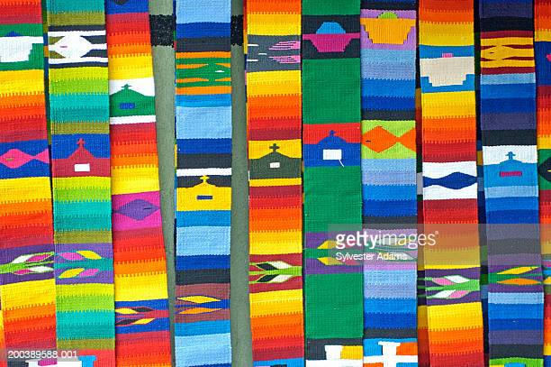 Colorful textiles in Guatemala