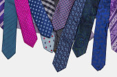 Colorful tie collection