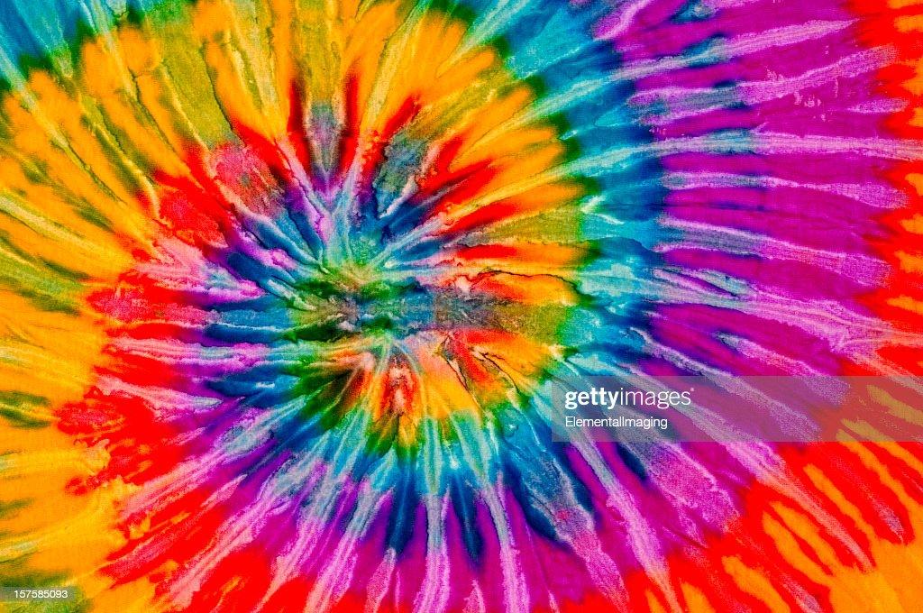 Tourbillon coloré teint au noeud motif de fond ou de la Texture : Photo