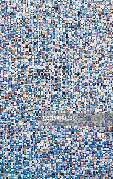 Arrière-plans colorés carreaux