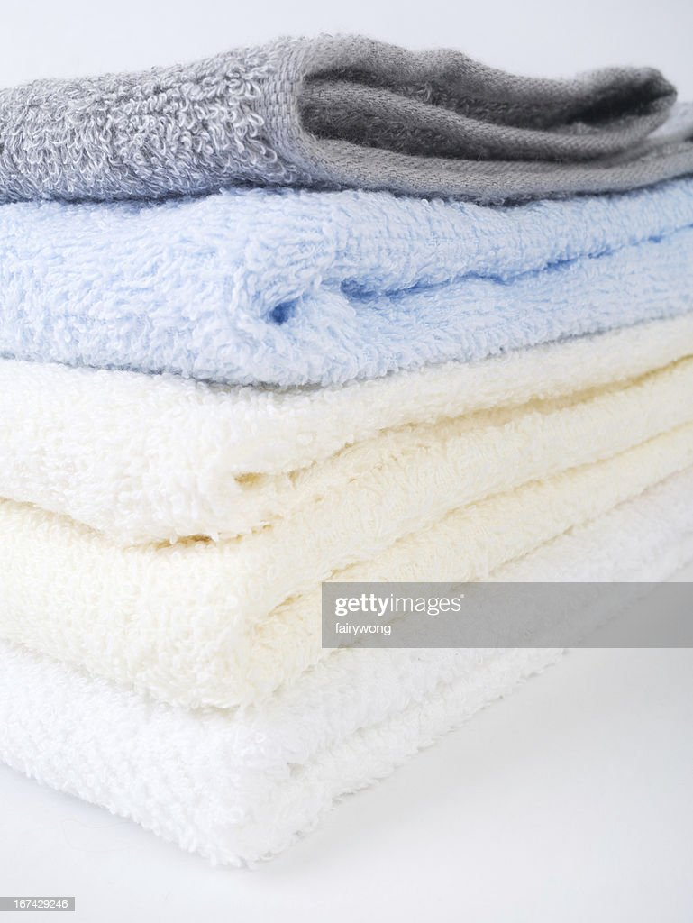 Colorido toallas de : Foto de stock