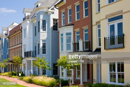 Colorful Townhouses From Richmond, Virginia