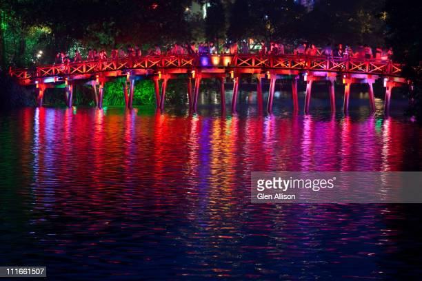 Colorful Vietnamese bridge