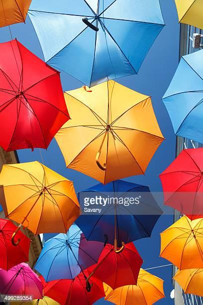 Colorfull umbrellas