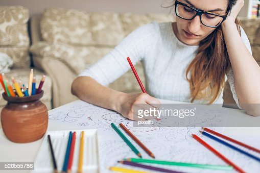 Coloring doodles