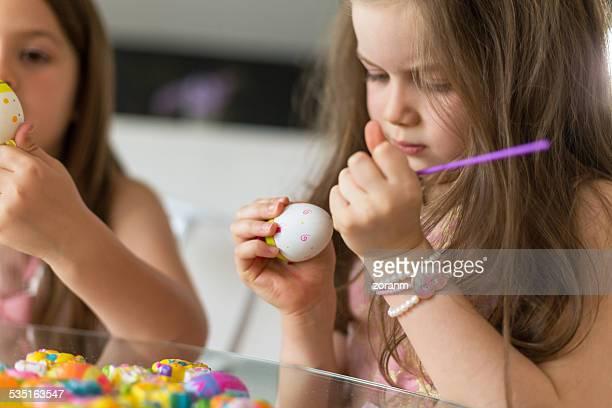 Färben Ostern Eier