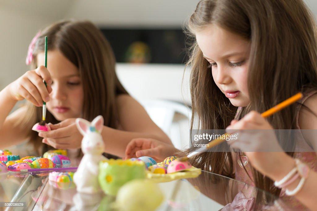 Färben Ostern Eier : Stock-Foto